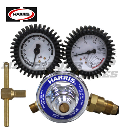 Harris® 825 Regulator Argon Sav 'T Lock'