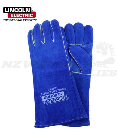 Lincoln Blue Mig Welding Glove
