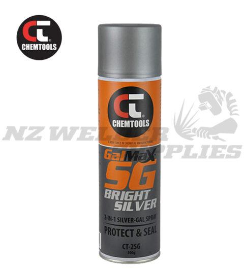 Chemtools™ GalMax Bright Silver 2-in-1 Galvanising Paint
