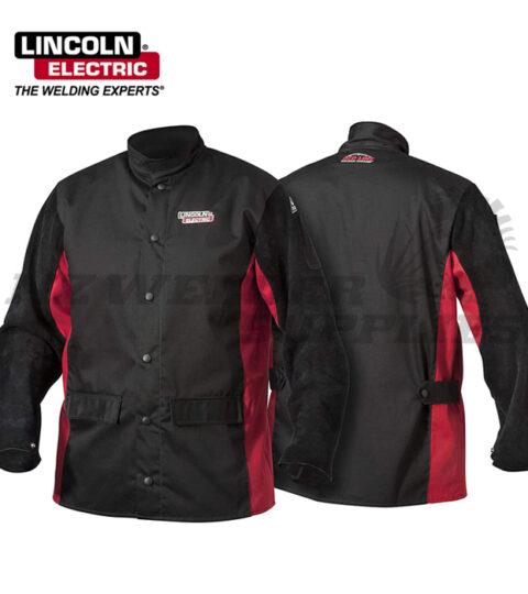 Lincoln Shadow Split Leather Welding Jacket