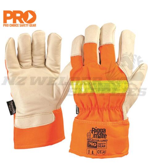 Riggamate Hi-Vis Lined Glove