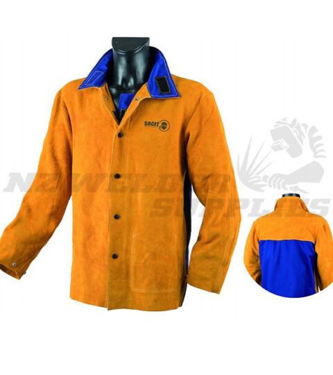 Leather Heavy Duty Welding Jacket